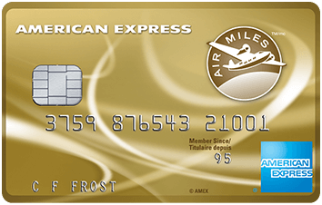 American Express Air Miles Credit Card image