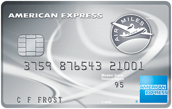 American Express® AIR MILES®* Platinum Credit Card image