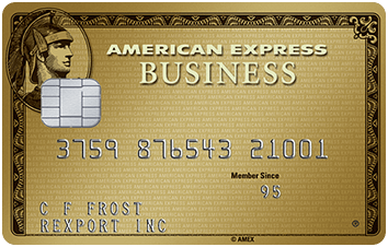 American Express Business Gold Rewards Card image