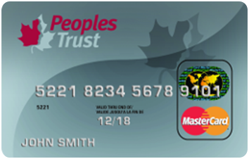 Peoples Trust Secured Mastercard® image