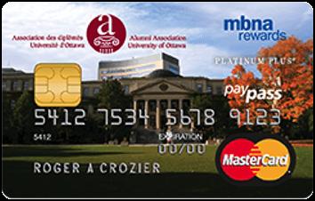 MBNA REWARDS MASTERCARD