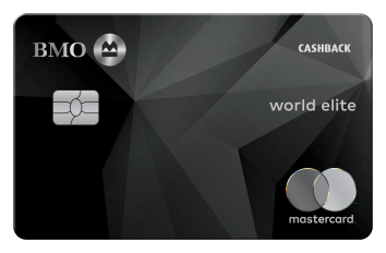BMO® CashBack® World Elite® MasterCard®