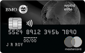 BMO World Elite Mastercard image