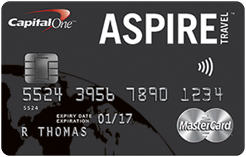 Aspire Travel World Elite MasterCard®