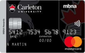 Carleton University MBNA Rewards Mastercard® image