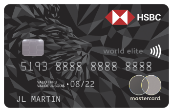 HSBC World Elite® Mastercard® image