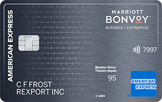 Marriott Bonvoy™ Business American Express® Card image