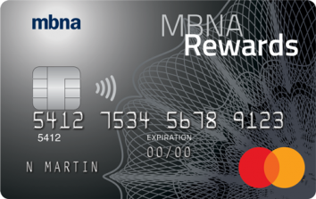 MBNA Rewards Platinum Plus Mastercard® image