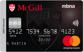 McGill University MBNA Rewards Mastercard® image