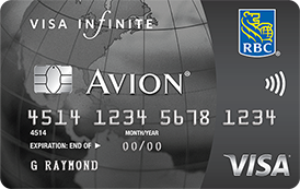 RBC Visa Infinite Avion.