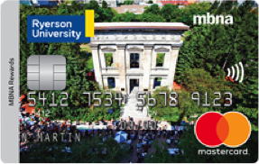 Ryerson University MBNA Rewards Mastercard® image