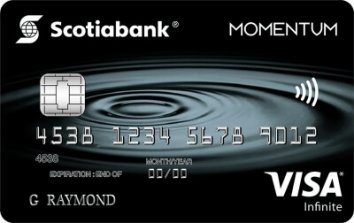 Scotia Momentum® VISA Infinite* Card image