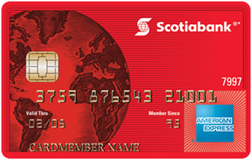 Scotiabank®* American Express® Card image