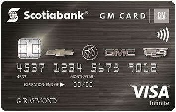 Scotiabank® GM®* VISA* Infinite Card image