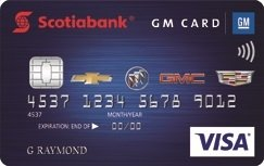 Scotiabank® GM®* VISA* Card image