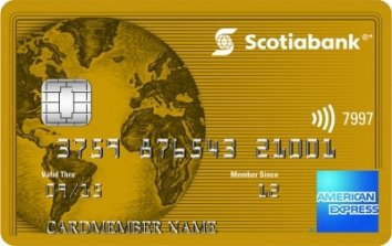 Scotiabank®* Gold American Express® Card image