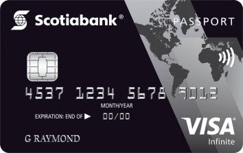 Scotiabank Passport™ Visa Infinite* Card image