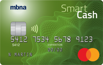 MBNA Smart Cash Platinum Plus® Mastercard® image