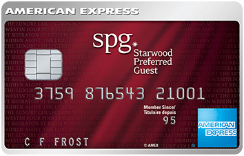 The Starwood Preferred Guest Credit Card from American Express image