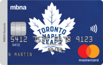 Toronto Maple Leafs® MBNA Rewards Mastercard® image