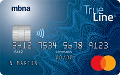 Credit cards compare offers now lowestrates mbna true line gold mastercard image reheart Gallery