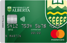 University of Alberta MBNA Rewards Mastercard® image