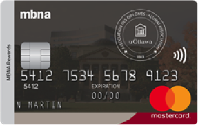 University of Ottawa MBNA Rewards Mastercard® image