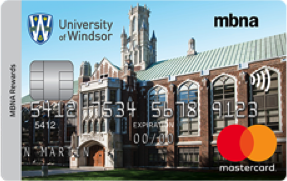 University of Windsor MBNA Rewards Mastercard® image