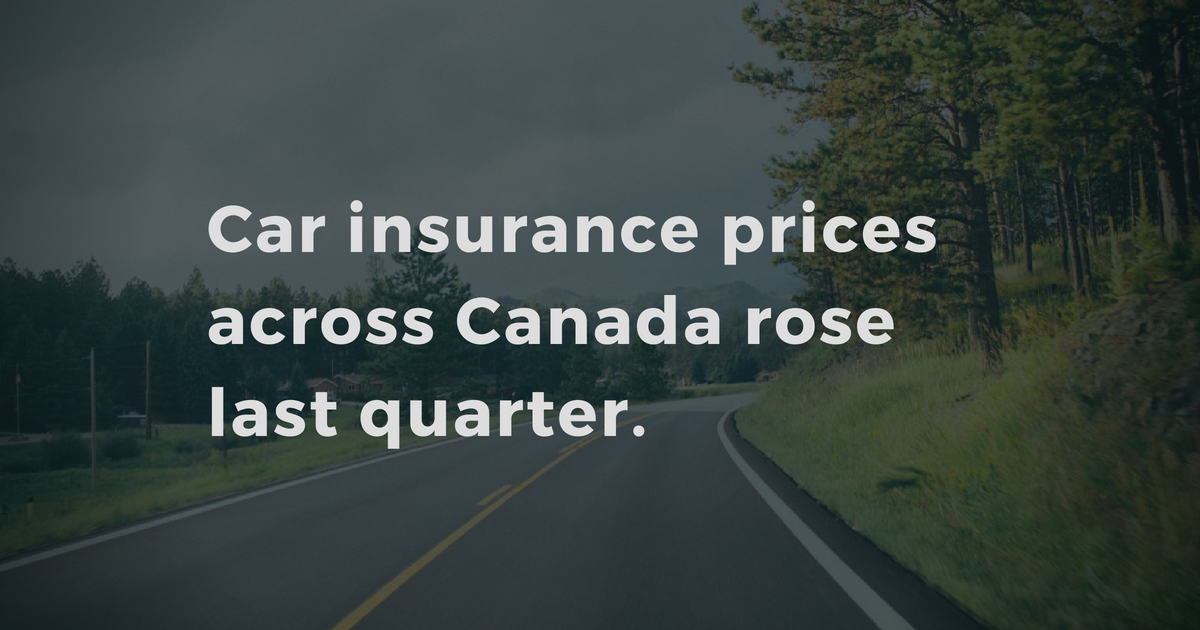 Wawanesa Car Insurance >> Drivers across Canada are paying more for car insurance after Q2 rate hikes | LowestRates.ca