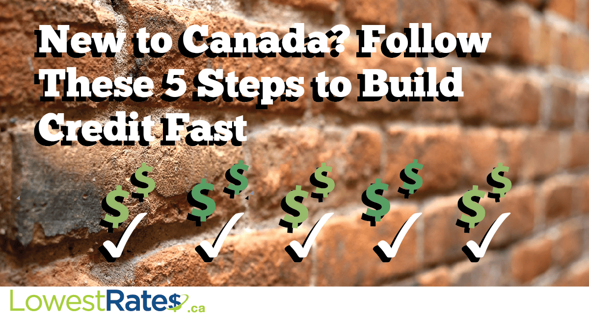 New to Canada? Follow These 5 Steps to Build Credit Fast