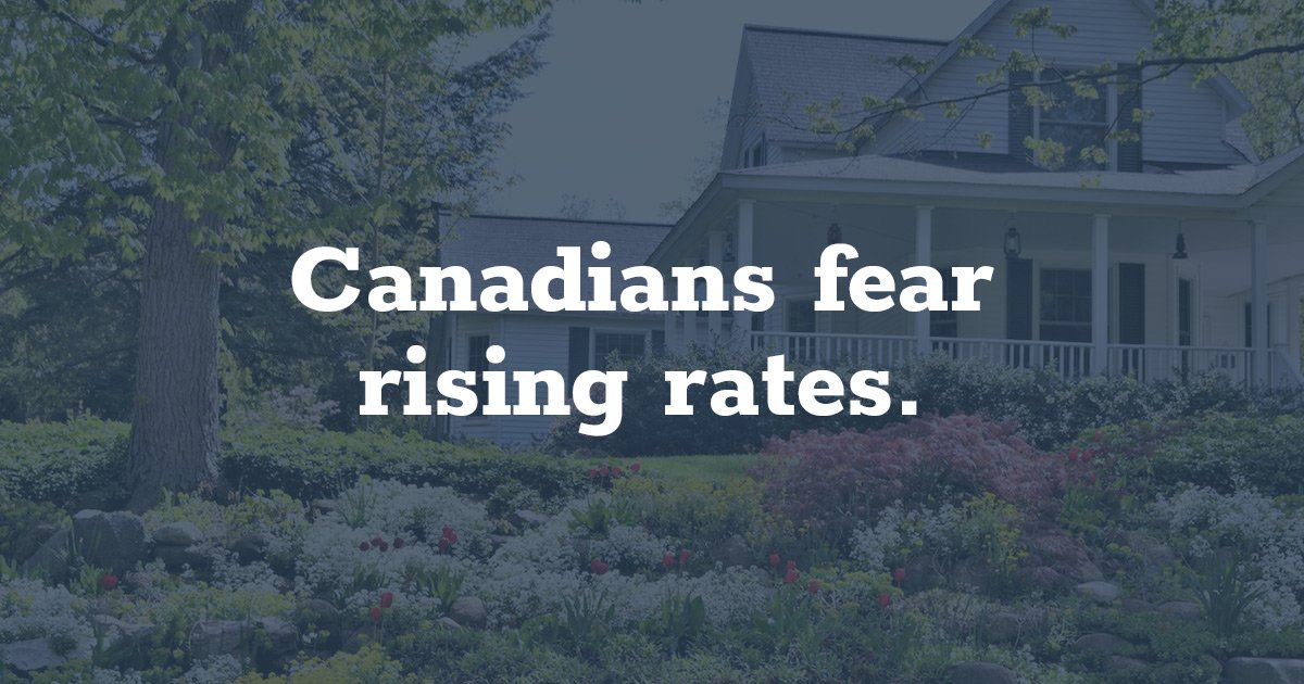 Canadians Worried About Rising Rates As Quotes For Fixedrate Amazing Mortgage Quotes