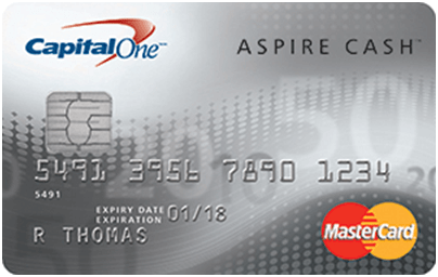 capital one platinum credit card cash back