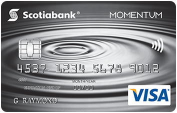 Scotia Momentum® No-Fee VISA* image