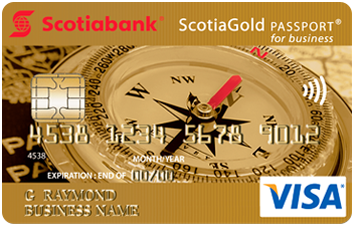 ScotiaGold Passport® VISA* image