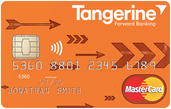 Tangerine Money-Back Credit Card image