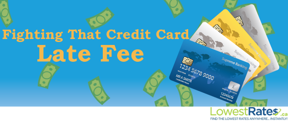 how to pay a late credit card fee
