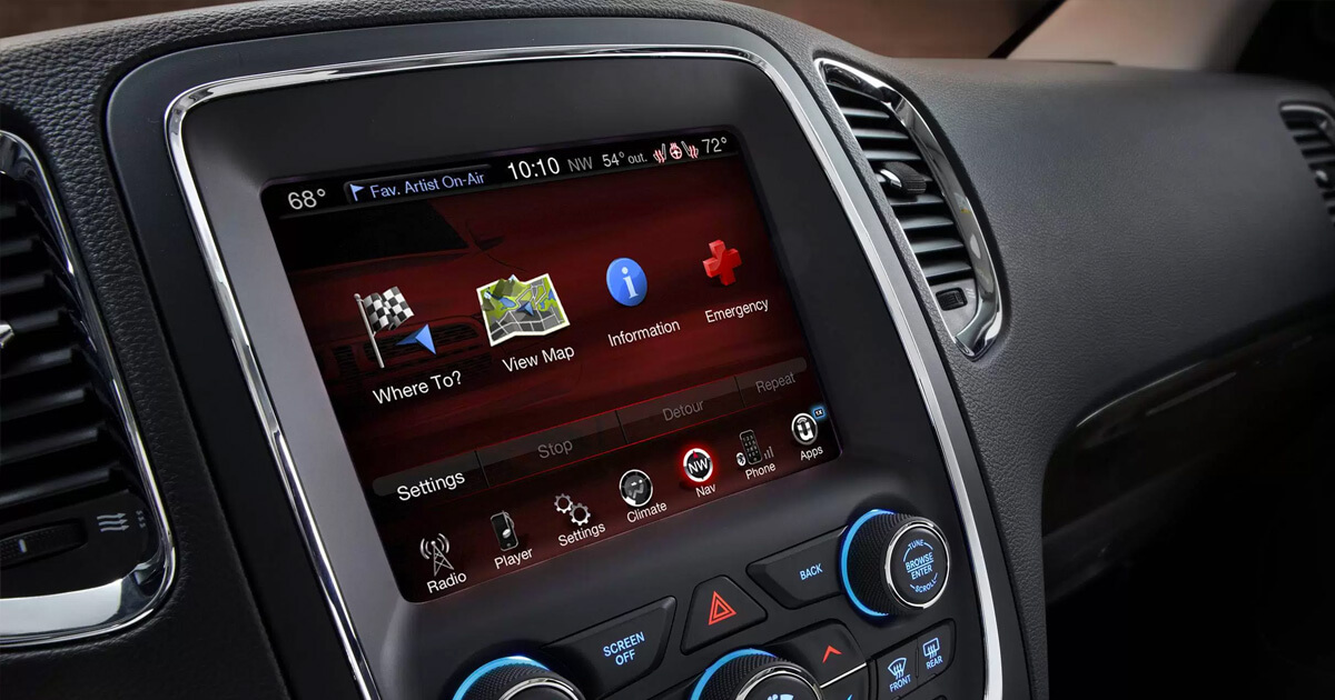 Fca Takes Top Spot For Its Infotainment System
