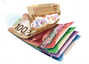 how to hold money send money canada