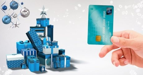 Canadians love to use credit cards during the holidays, but the debt lasts