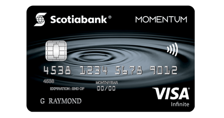 Scotiabank sweetens Momentum Visa Infinite intro offer with 10% cash back