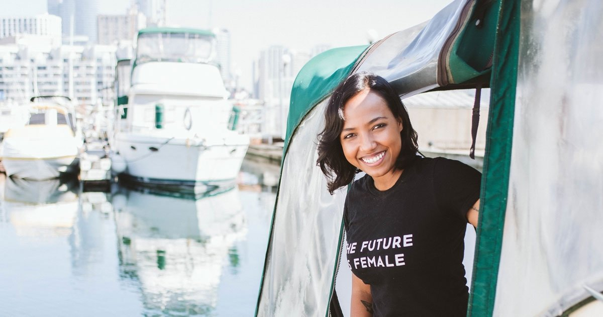 This Toronto woman traded the condo life for a houseboat