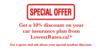 Special Offer: Car Insurance
