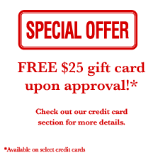 Special Offer: Credit Cards